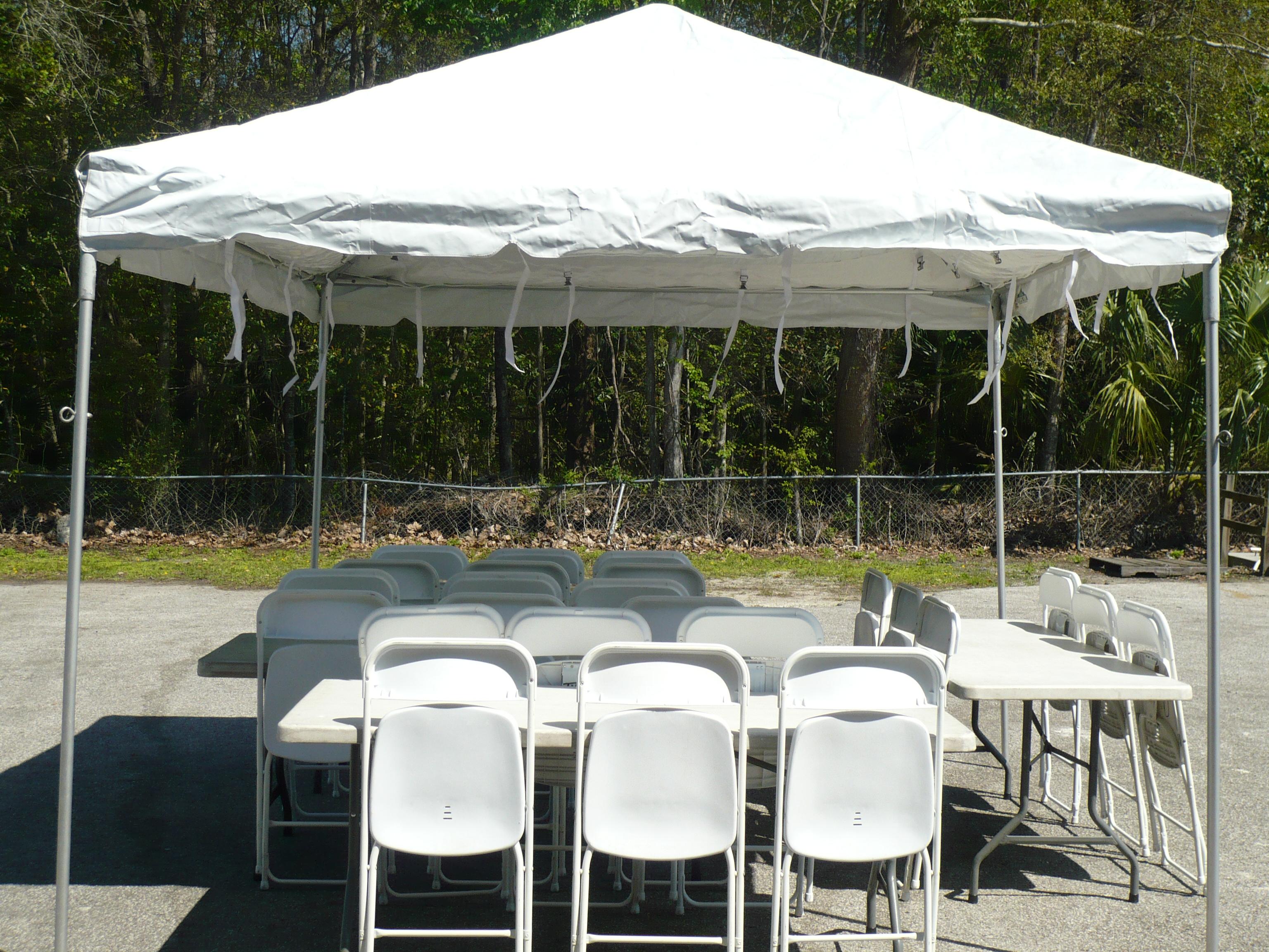 10x10 Tent Frame & 10x10 Frame Tent